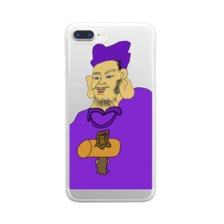 JUNSENSETA(瀬田純仙)大黒様MAX令和元年に君臨 COOL JAPAN Clear smartphone cases