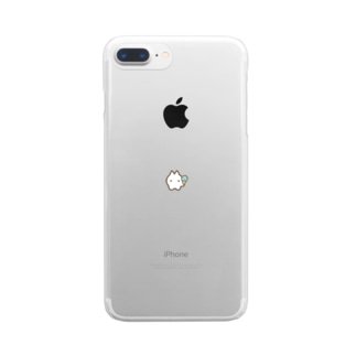こねこアイス Clear smartphone cases