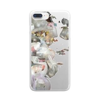 リサイクル Clear smartphone cases