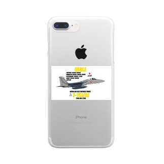F-15J/DJ 航空自衛隊グッズ Clear smartphone cases