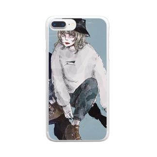 そんなアナタが、私は嫌い。 Clear smartphone cases
