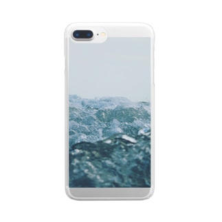 Water is the root of everything Clear smartphone cases