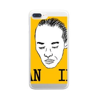 ハオ・シュウライハウスのハオシュウライ Clear smartphone cases