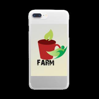 j&yshopのfarmマンのナチュシリーズ Clear smartphone cases