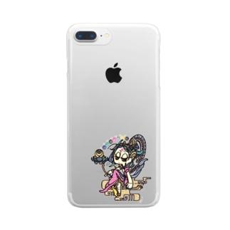 ◇『月光菩薩さん』 Clear smartphone cases