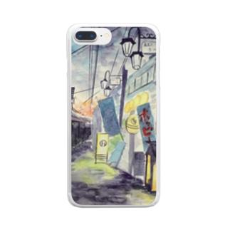 黄昏のバーボンロード Clear smartphone cases