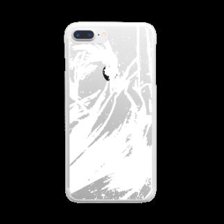 speramistの職業戦士『記士』 Clear smartphone cases