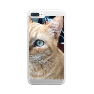 きーちゃんは言いたいことがあるのきーちゃんは言いたいことがある Clear smartphone cases