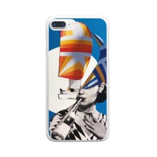 穏やか Clear smartphone cases