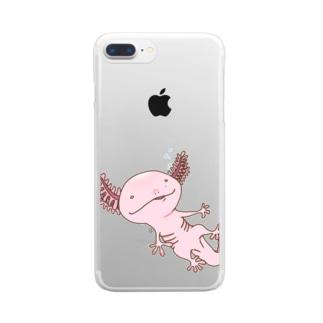 ウパる Clear smartphone cases