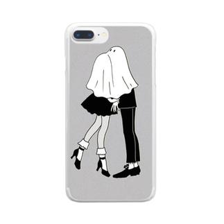 パーティーで Clear smartphone cases