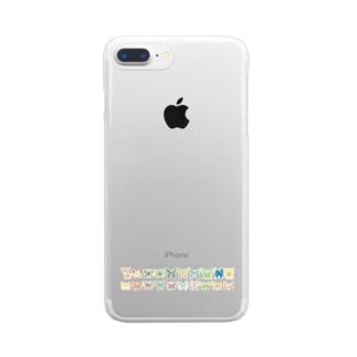 ちょう おりじなる Clear smartphone cases