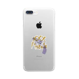 xxxPistols M49 Clear smartphone cases