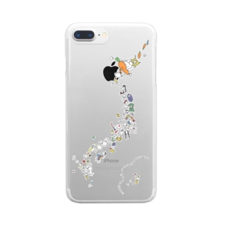 usagiJapan Clear smartphone cases
