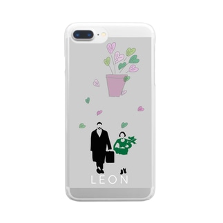 レオン Clear smartphone cases