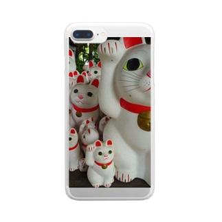 Maneki-NeKo Clear smartphone cases