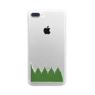 バラン Clear smartphone cases