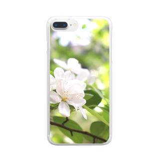 ヒメリンゴ Clear smartphone cases