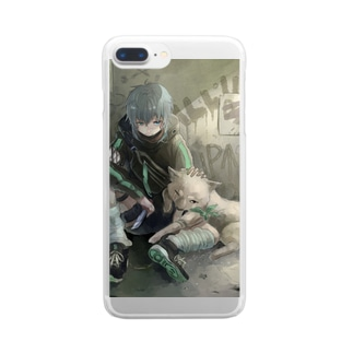味方 Clear smartphone cases
