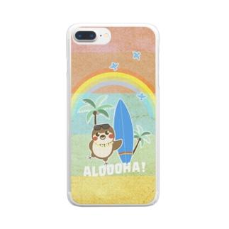 だいきち(サマホリ)スマホケース Clear smartphone cases