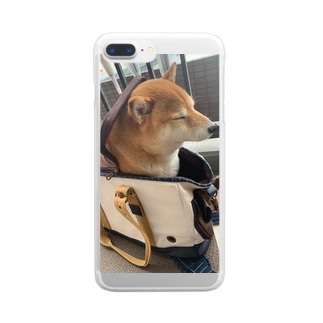 048style、ハナちゃん Clear smartphone cases