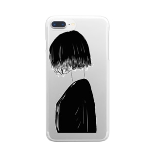 shorthair girl Clear smartphone cases