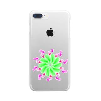 バード Clear smartphone cases