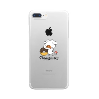 大好きドーナツ Clear smartphone cases