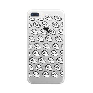 あらざし大漁(ネオ) Clear smartphone cases
