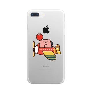 りんごの配達 Clear smartphone cases