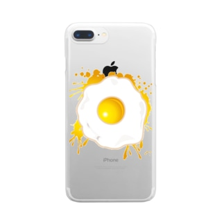 Fried_Egg Clear smartphone cases