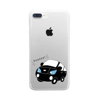 車だよ。 Clear smartphone cases