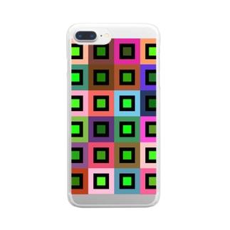 ランダムカラー Clear smartphone cases