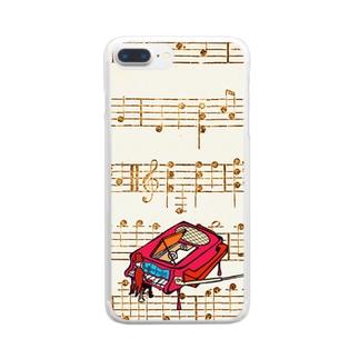 ピアノ調律師 Clear smartphone cases