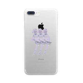 KAPPAMAKI_girls Clear smartphone cases