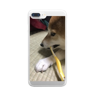 NORiの048style、はなちゃんの歯みがき Clear smartphone cases