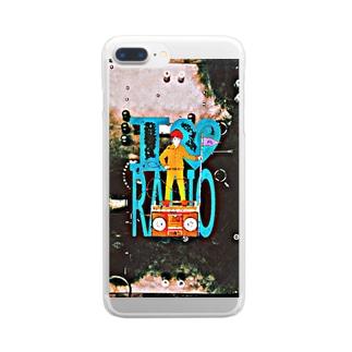 ラジオの王様 Clear smartphone cases