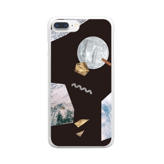 cosmic box Clear smartphone cases