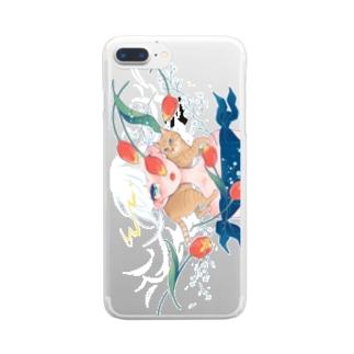 さいごのはる Clear smartphone cases