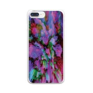 貧者の薔薇 Clear smartphone cases