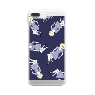 Navygirl     Clear smartphone cases