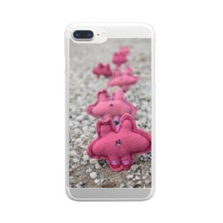 よしよしくん Clear smartphone cases