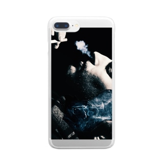 Smokey! Clear smartphone cases
