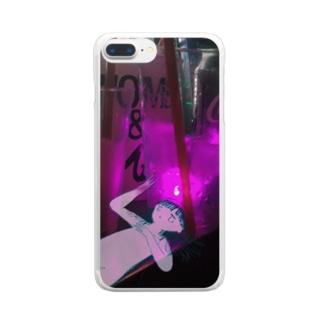 Ou Clear smartphone cases