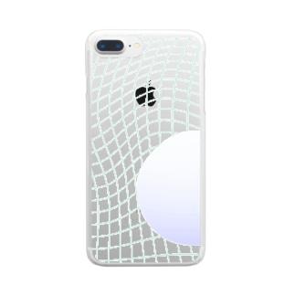 水没ㅤ Clear smartphone cases