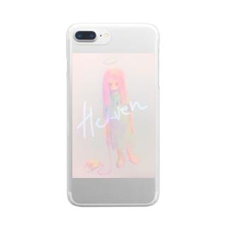 イラスト Clear smartphone cases