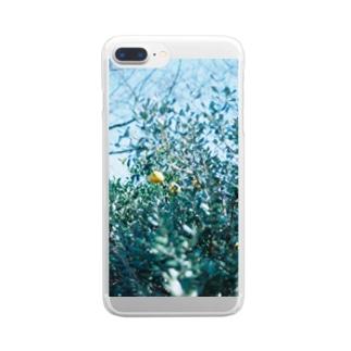かんきつ Clear smartphone cases
