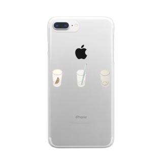 夏の味 Clear smartphone cases