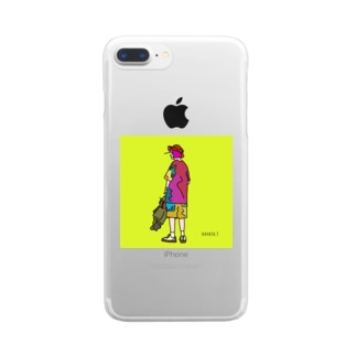 artwork_190531 Clear smartphone cases