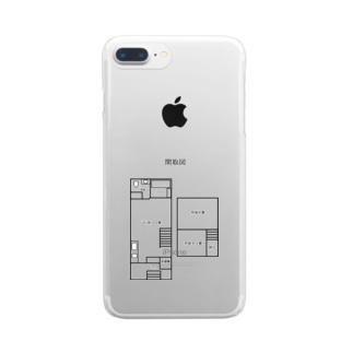 まどりーぬ Clear smartphone cases